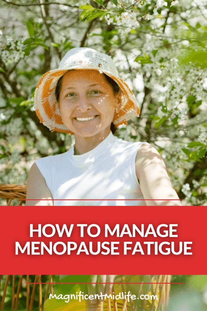 menopause fatigue